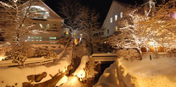 meredith nh with christmas lights