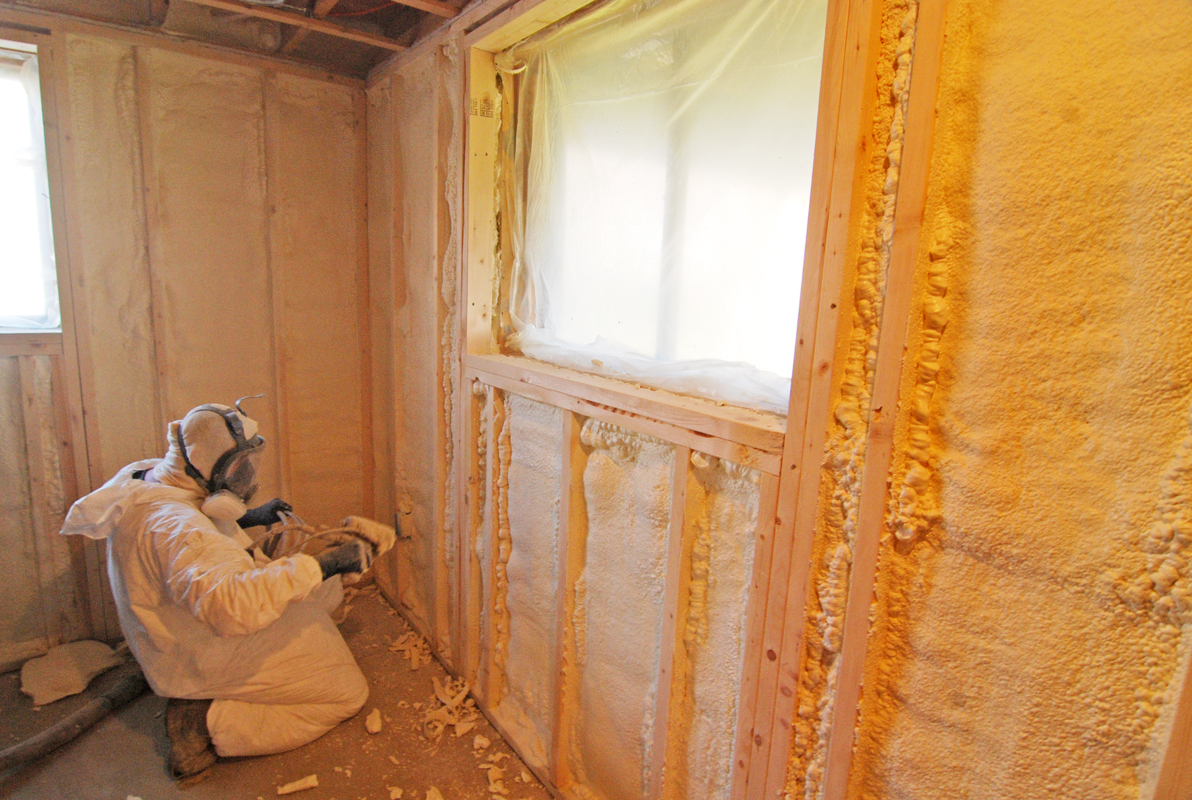 Spray Polyurethane Foam Insulation Advantages For