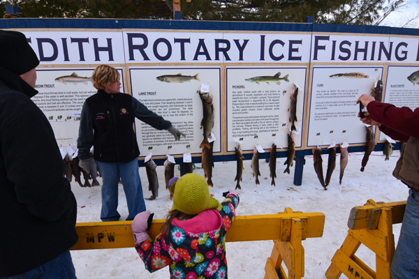 Fish tales from the 35th annual greater meredith rotary for Lake meredith fishing report