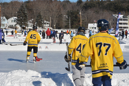 2015 New England Pond Hockey Classic, Meredith, NH
