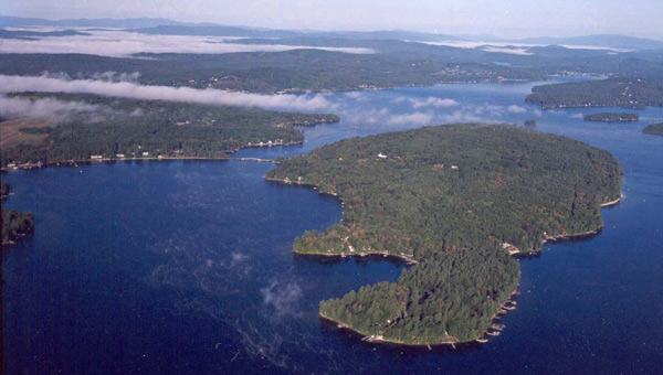Governor's Island, Lake Winnipesaukee, NH