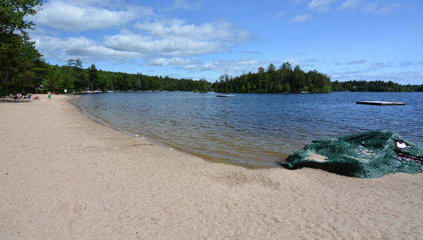 Photo of one of the beaches at Suissevale