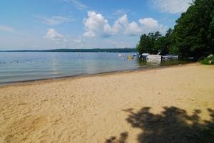 Wildwood Shores Beach, Lake Winnisquam, NH