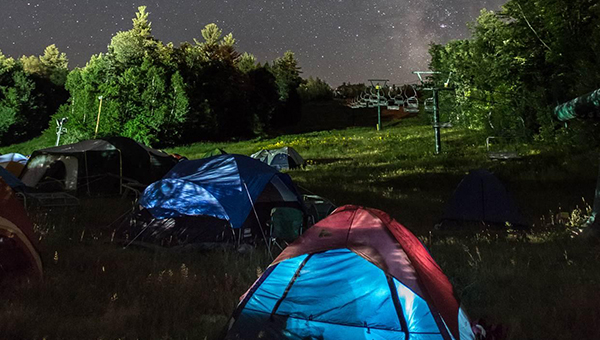 High-Kicking Around the Campfire