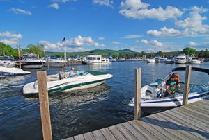 Mountain View Yacht Club on Lake Winnipesaukee, Gilford, NH