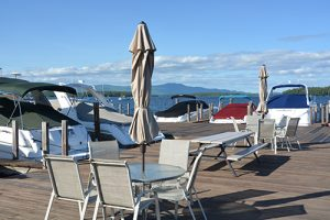 Yacht Club Vista on Lake Winnipesaukee in Gilford