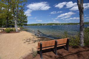 South Down Shores, a gated community on the shore of Lake Winnipesaukee, NH