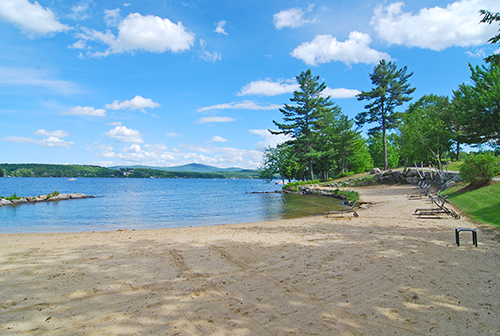 Long Bay on Lake Winnipesaukee, NH