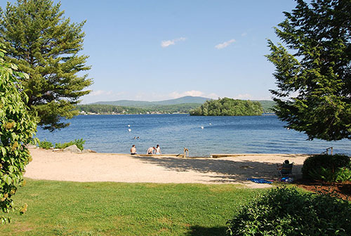 South Down Shores is a gated community on the shore of Lake Winnipesaukee, NH