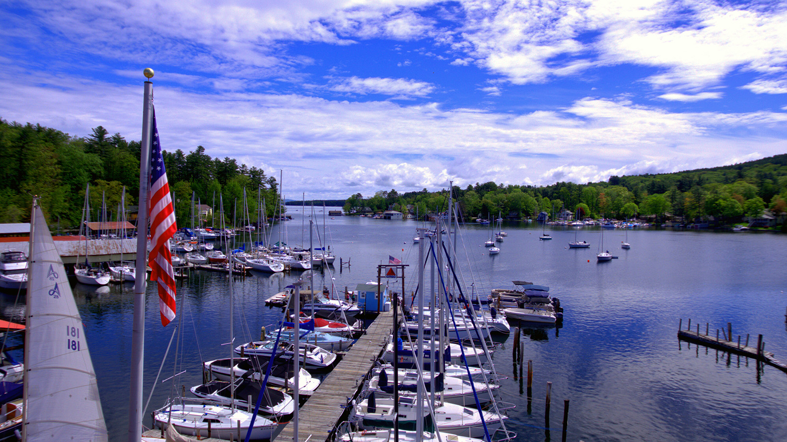 Fay's Boat Yard on Lake Winnipesaukee