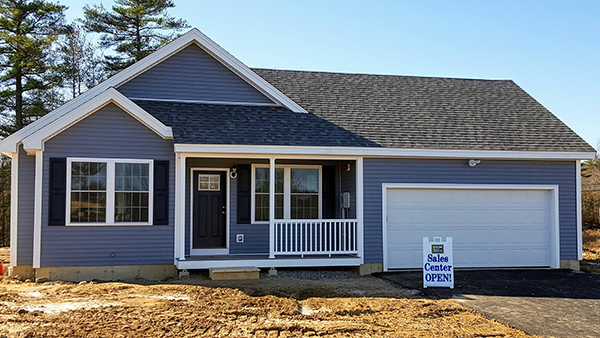 New homes for sale at Highland Ridge in Tilton, New Hampshire