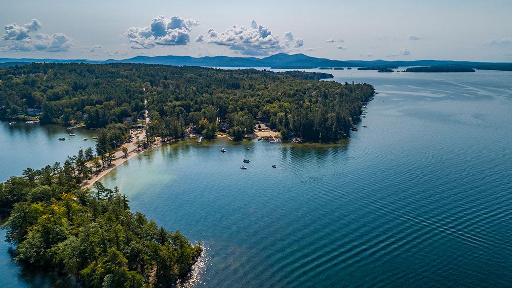 Governor's Island on Lake Winnipesaukee