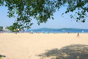 Weirs Beach on Lake Winnipesaukee, Laconia, NH