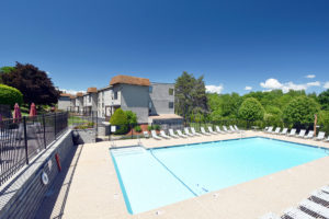Picture of NH condominium home with pool