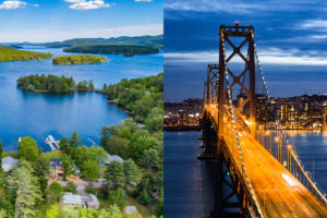 Lakes Region NH vs San Francisco, CA