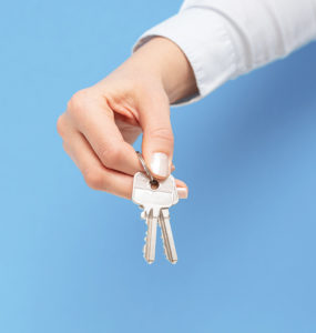 Keys to new home