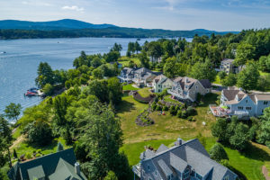 Photo of homes in New Hampshire's Lakes Region