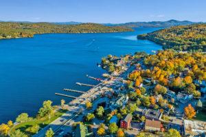 Meredith Village on Lake Winnipesaukee, New Hampshire