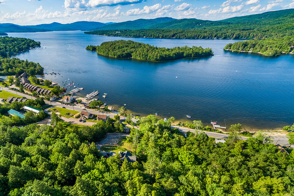 Lakes Region Real Estate Market - View of NH Lakes