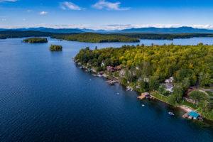 Gilford, New Hampshire on Lake Winnipesaukee