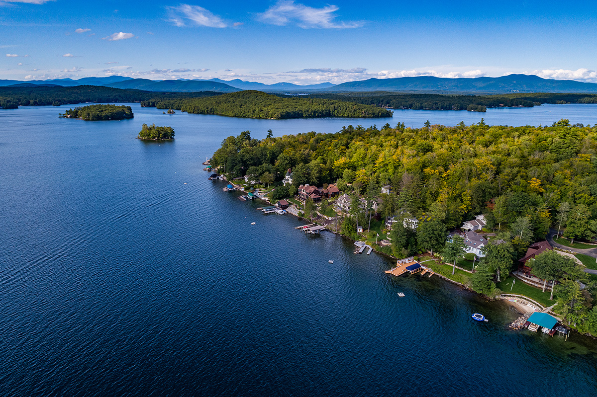 Gilford, New Hampshire on Lake Winnipesaukee