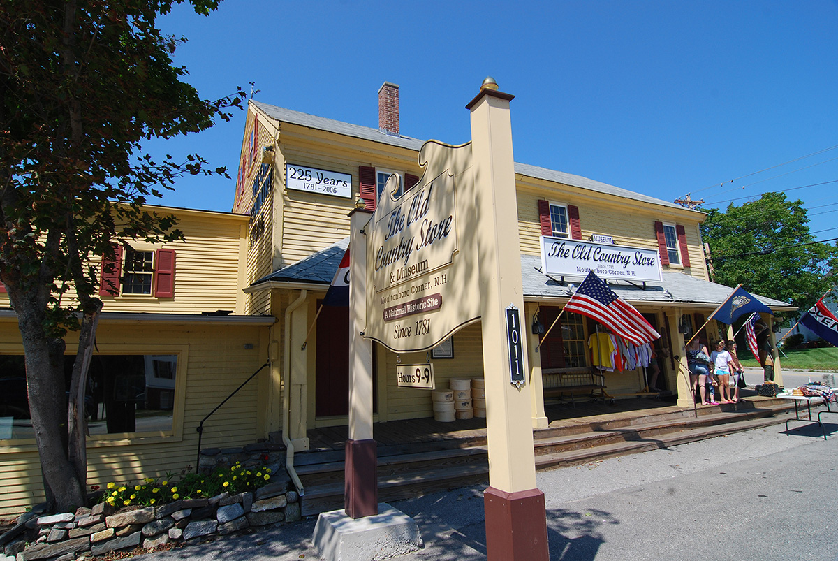 The Old Country Store in Moultonborough, NH