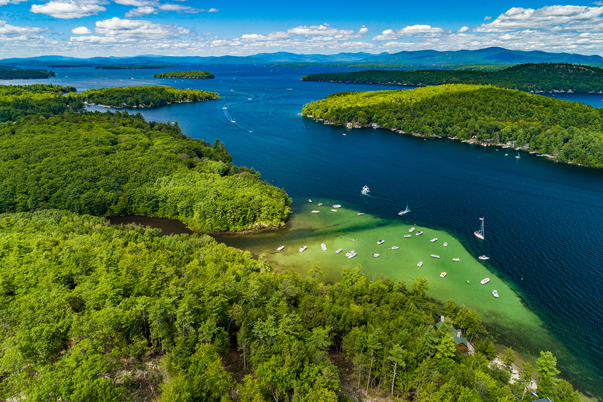 Alton, New Hampshire on Lake Winnipesaukee