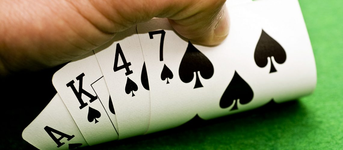 playing cards in a seller's real estate market