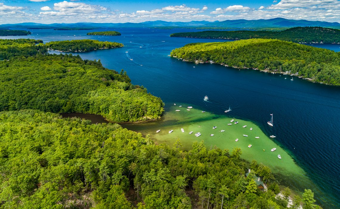 Alton, New Hampshire on Lake Winnipesaukee