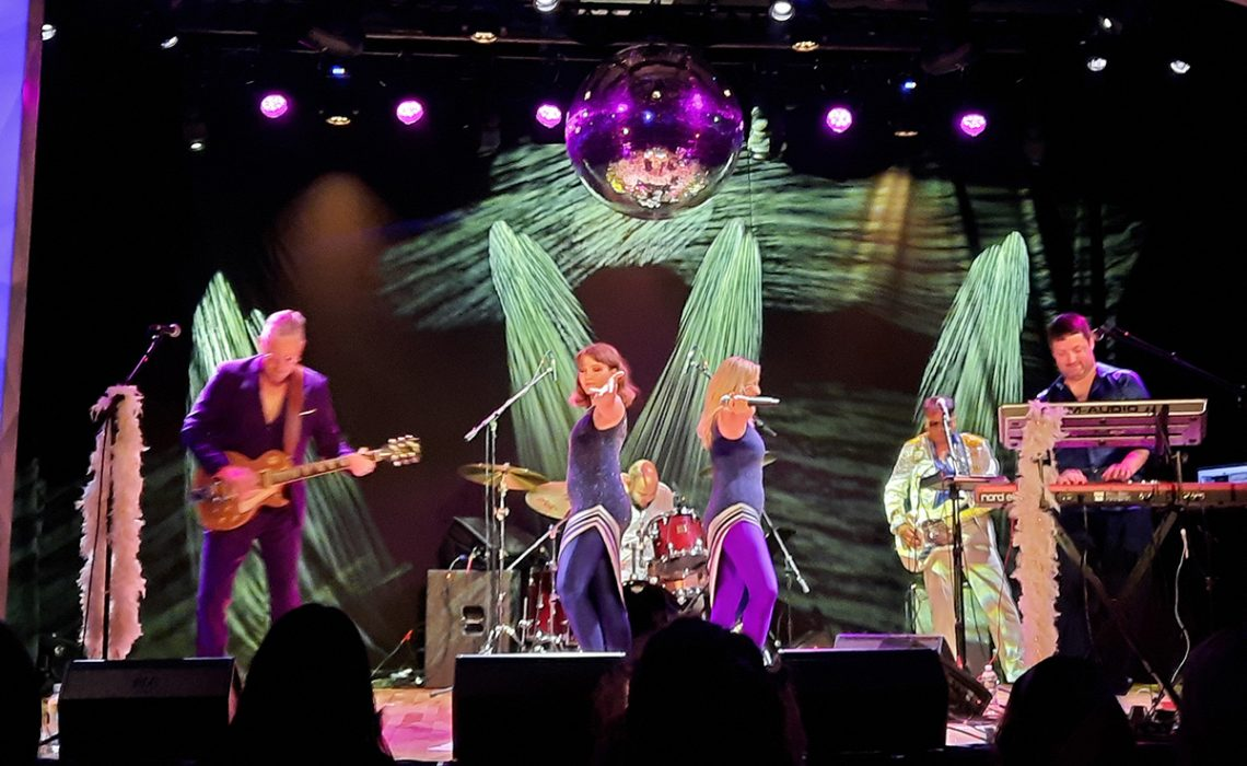 ABBA Tribute performing at the Lakeport Opera House