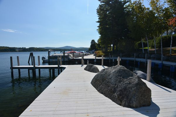 Long Bay on Lake Winnipesaukee